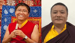 Tsoknyi Rinpoche and Tana Dungsey Rinpoche