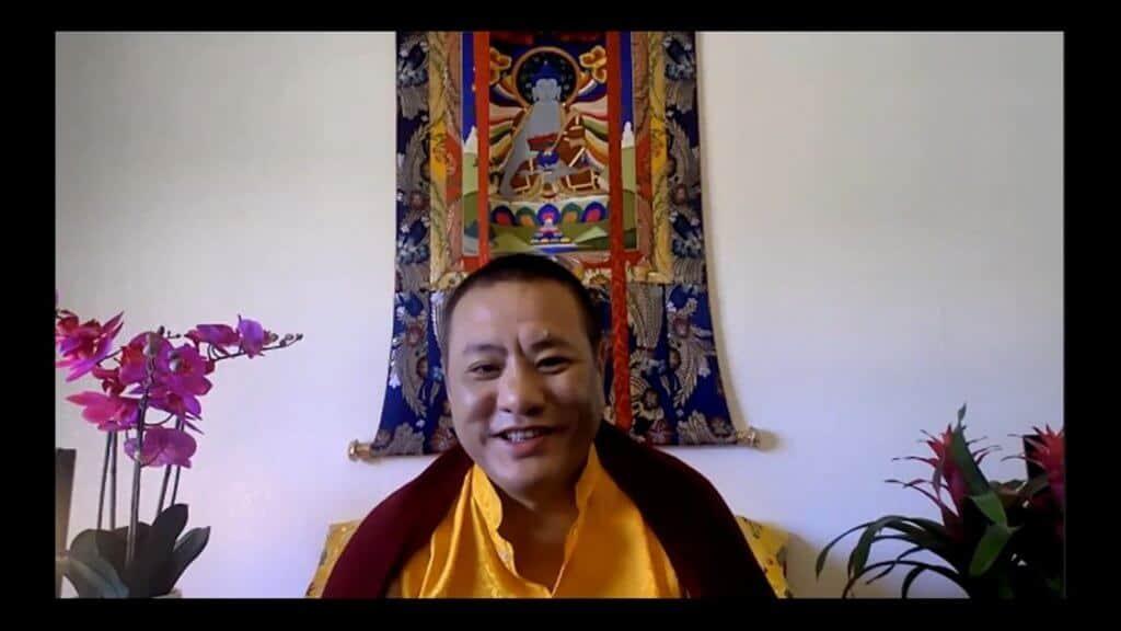 Tana Dungsey Rinpoche Meditation Class