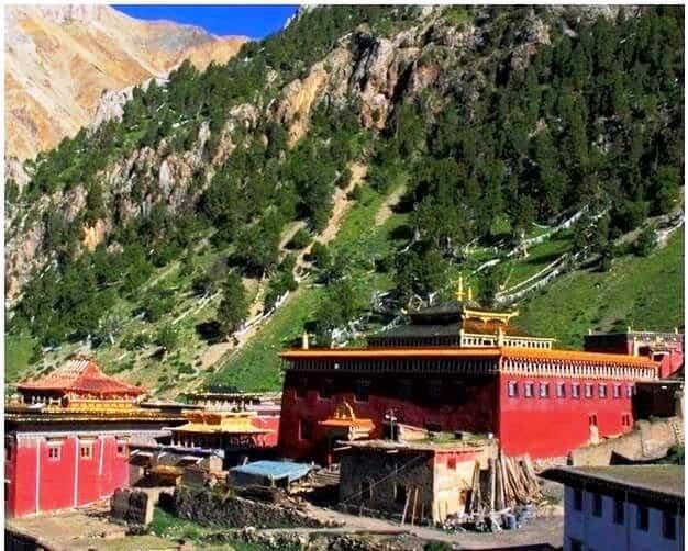 Tana Monastery Tibet