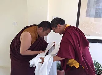 Tana Yelpa and Tsoknyi Rinpoche